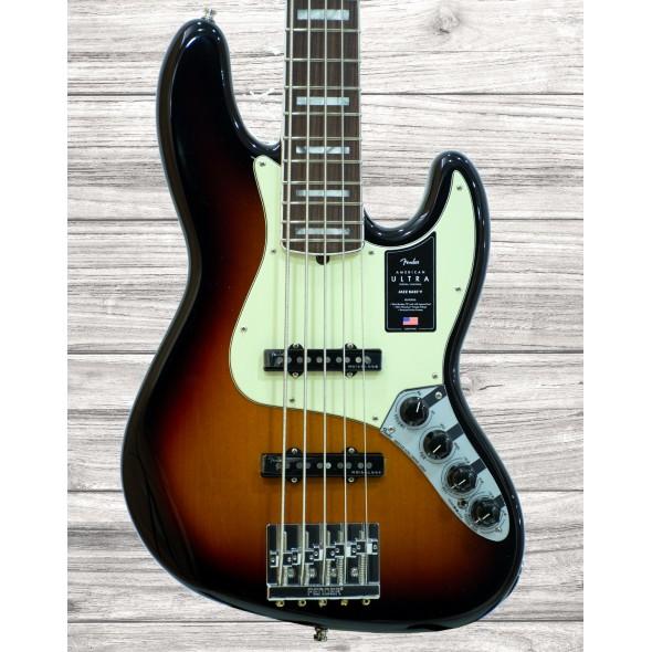 Baixo de 5 Cordas Fender American Ultra J Bass V RW UltrBurst