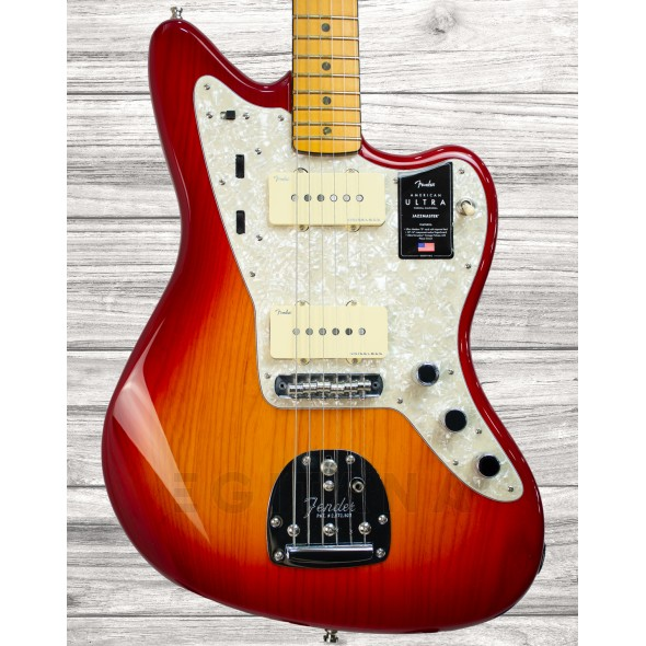 Outros formatos Fender American Ultra Jazzmaster MN PRB