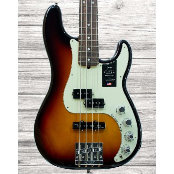 Baixo de 4 Cordas Fender American Ultra P Bass RW Ultraburst