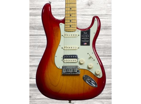 Guitarras formato ST Fender American Ultra Strat MN HSS PRB