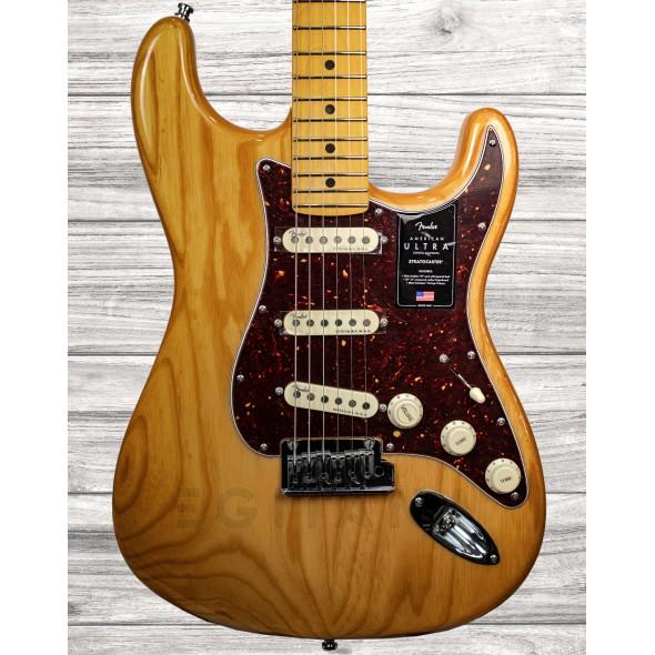 Guitarras formato ST Fender American Ultra Stratocaster MN AGED NATURAL