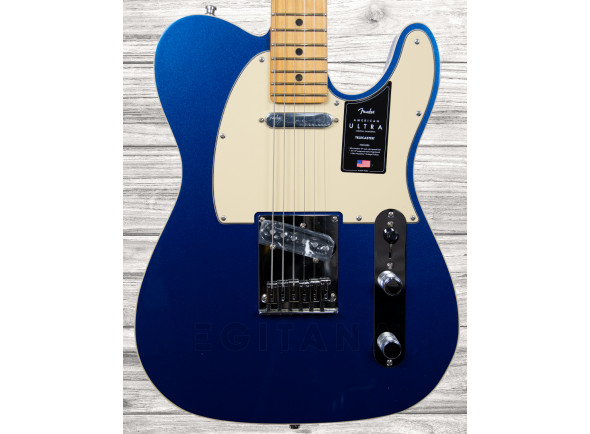 Guitarras Fender American Guitarras formato T Fender American Ultra Tele MN Cobra Blue