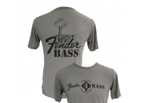 T-Shirt/Diversos Fender Bass T-Shirt L