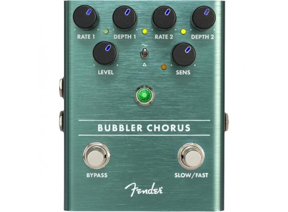 Pedal analógico/Chorus/ Flanger/ Phaser Fender Bubbler Chorus