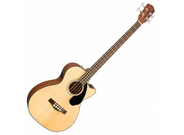 Baixos acústicos e semi-acústicos Fender CB-60SCE A-Bass Natural