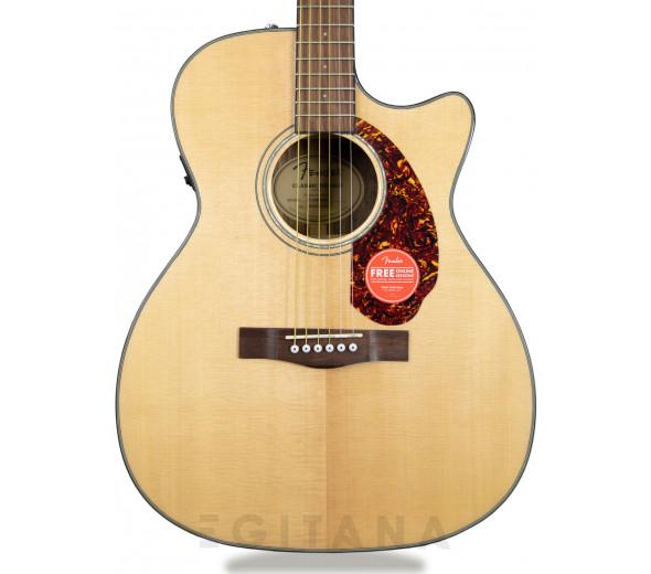 Guitarras Dreadnought Fender CC-140SCE Natural Com Estojo