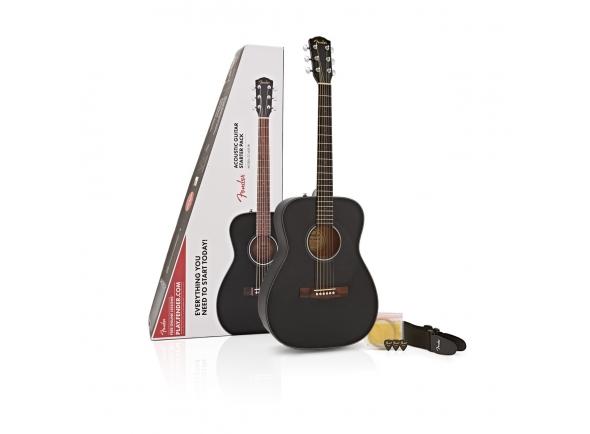 Outras guitarras acústicas Fender CC-60S Concert Pack Black