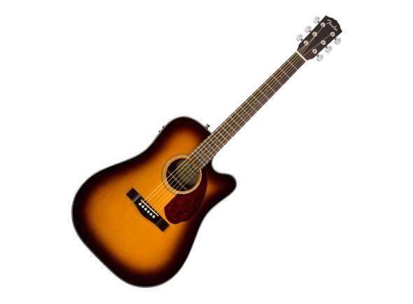 Guitarra Acústica eletrificada 4/4/Guitarra Acústica Fender CD-140SCE SB