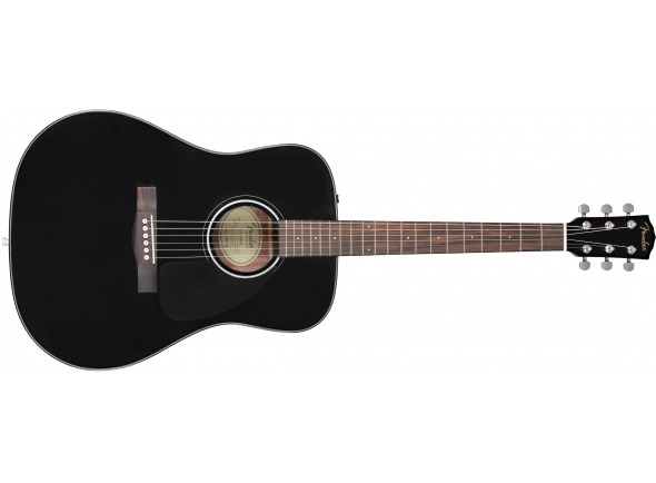 Guitarra acústica dreadnought/Guitarras Dreadnought  Fender CD-60 BK V3