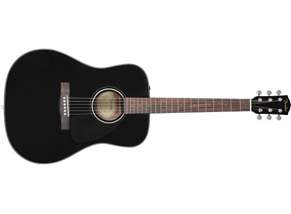 Guitarras Dreadnought  Fender CD-60 BK V3