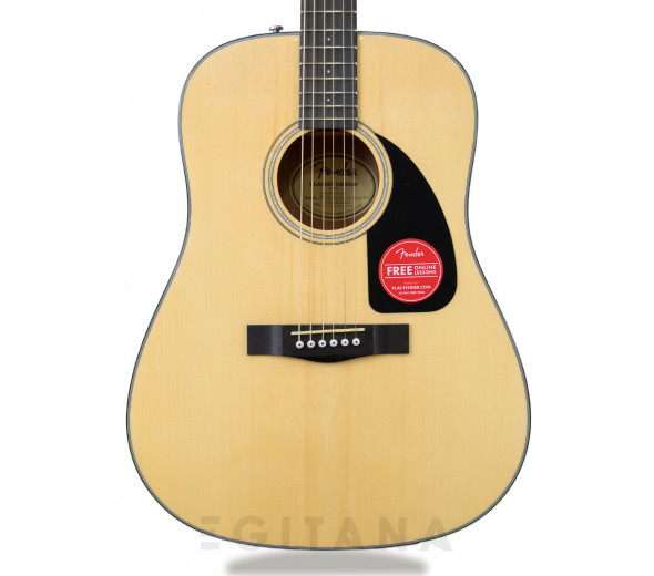 Guitarras Dreadnought Fender CD-60 Dreadnought V3 w/Case Natural