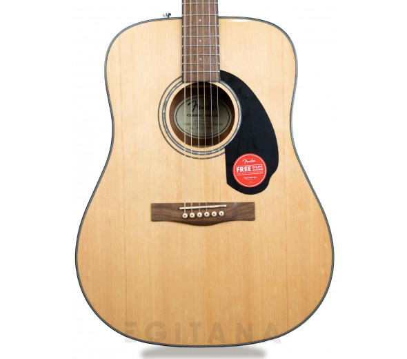 Guitarra acústica dreadnought/Guitarras Dreadnought Fender CD-60 NA V3