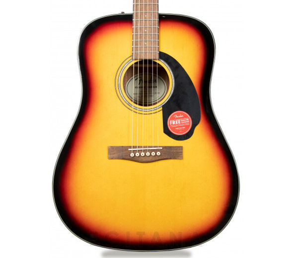 Guitarras Dreadnought Fender CD-60 SB V3