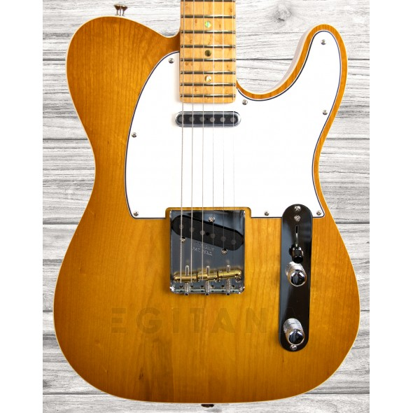 Guitarras formato T Fender Custom Shop Telecaster, Maple Fingerboard, Honey Burst, NOS