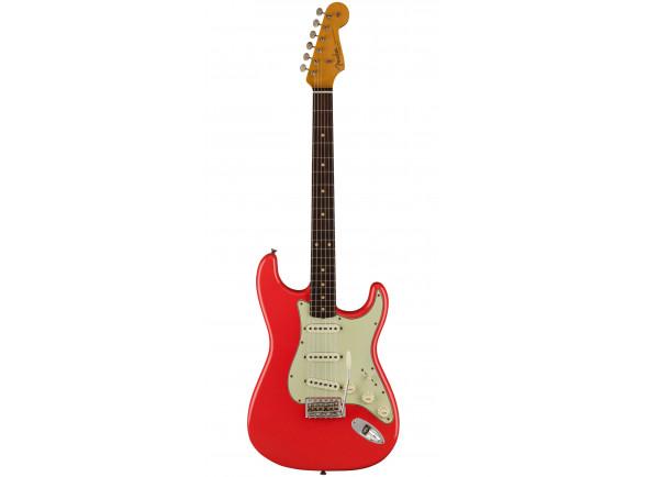 Fender Custom Shop Guitarras formato ST Fender  Custom Shop LT 62/63 Journeyman Relic RW Aged Fiesta Red