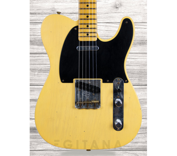 Guitarras formato T Fender  Custom Shop LTD 70th Anniversary Broadcaster Journeyman Relic Nocaster® Blonde