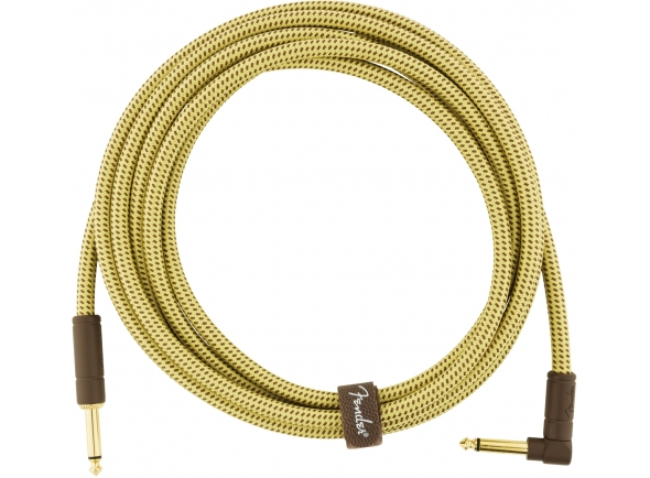 Cabo de instrumento /Cabo para Instrumento Fender Deluxe tweed natural angulado Jack 4,5m