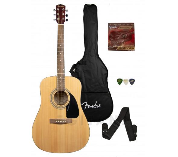 Conjuntos de guitarra acústica Fender FA-115 II Dreadnought Pack