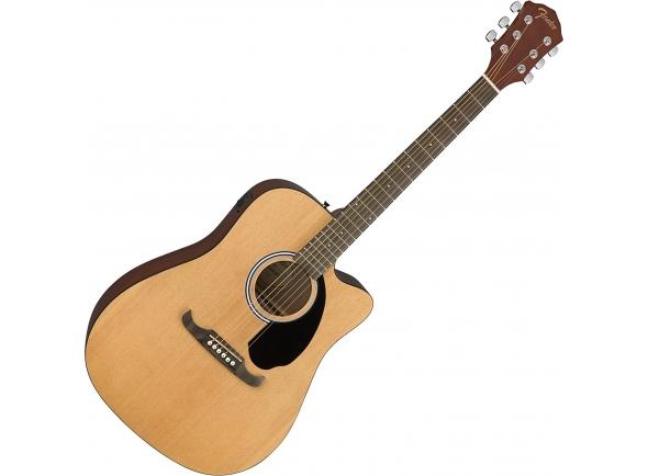 Guitarra acústica dreadnought/Guitarras Dreadnought Fender FA-125CE NAT B-Stock