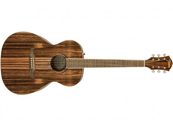 Outras guitarras acústicas Fender FA-235E Stripped Ebony FSR LR