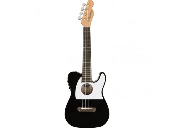 Ukulele Concerto/Ukulele Electrificados Fender Fullerton Tele Uku Black