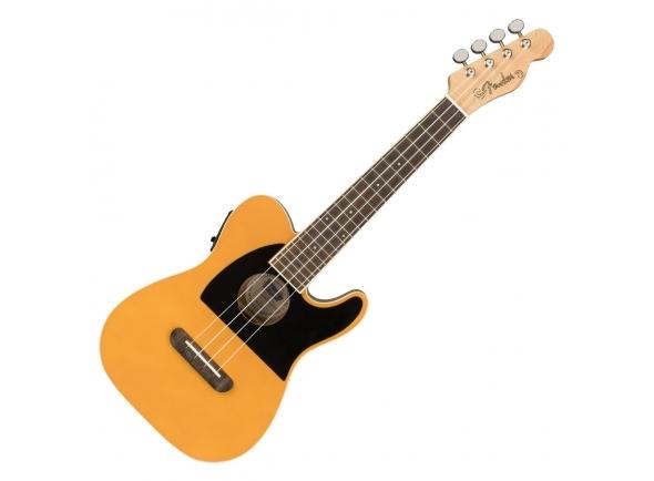 Ukulele Electrificados Fender Fullerton Tele Ukulele Butterscotch Blonde