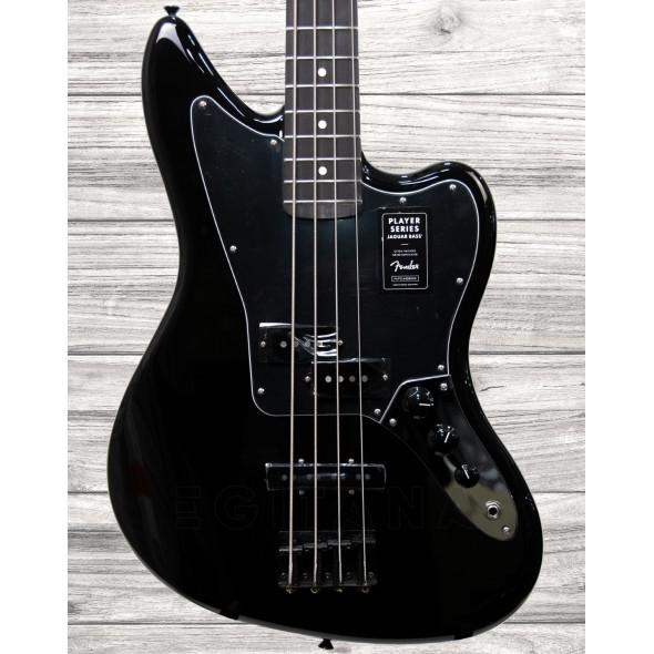 Baixo Elétrico de 4 cordas/Baixo de 4 Cordas Fender Jaguar Bass EB Black