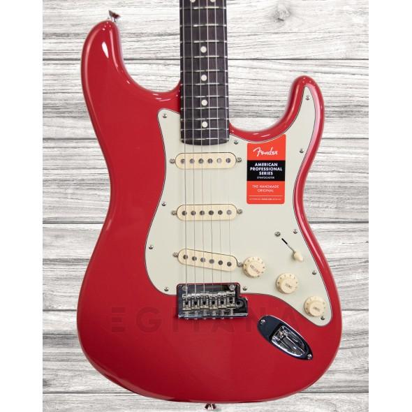 Guitarra tipo ST/Guitarras formato ST Fender Lt. Ed. American Pro Stratocaster RW Fiesta Red