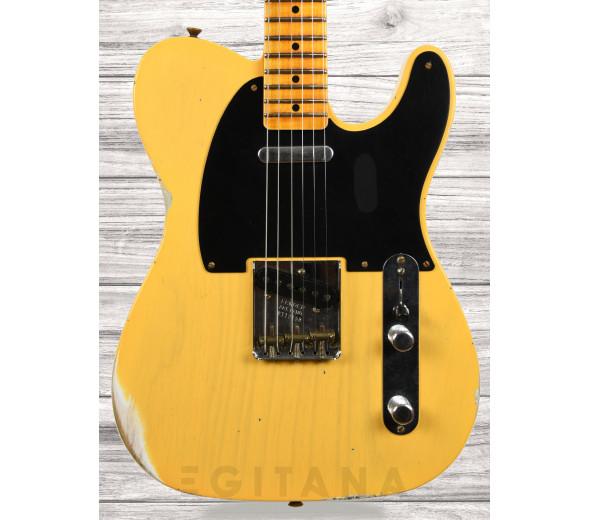 Fender Custom Shop em stock Guitarras formato T Fender Custom Shop 51 Relic MN Aged Nocaster Blonde