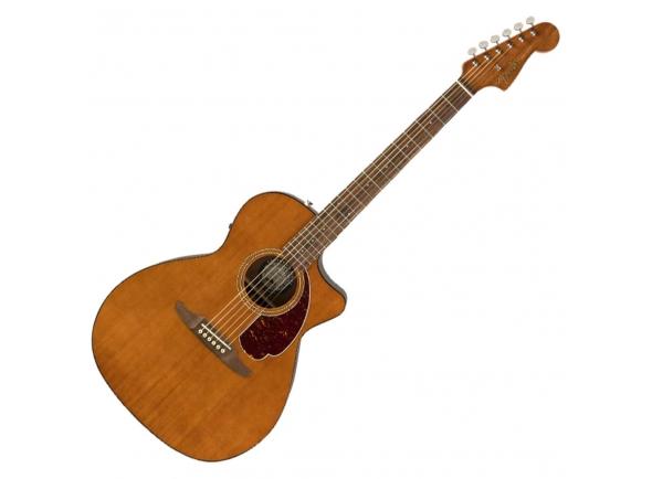 Outras guitarras acústicas Fender LTD Newporter Player Mocha