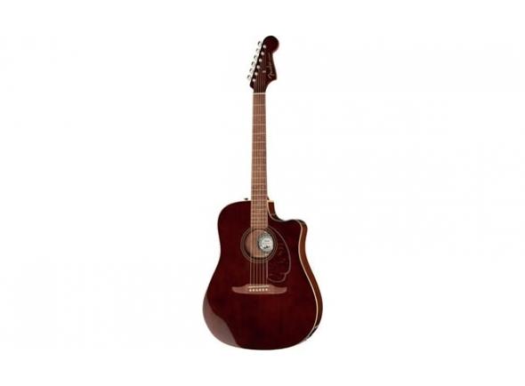 Outras guitarras acústicas Fender LTD Redondo Player Walnut