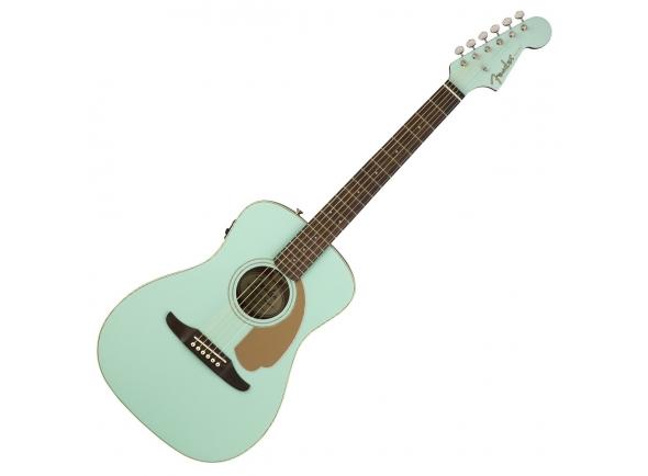 Outras guitarras acústicas Fender Malibu Player Aqua Splash