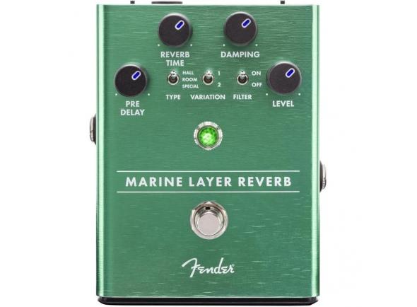 Efeitos reverb e hall Fender Marine Layer Reverb