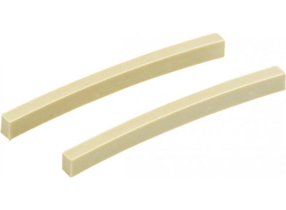 Pestana/Pestanas Fender  Melamine Stratocaster/Telecaster String Nut Blanks emb 2 UN