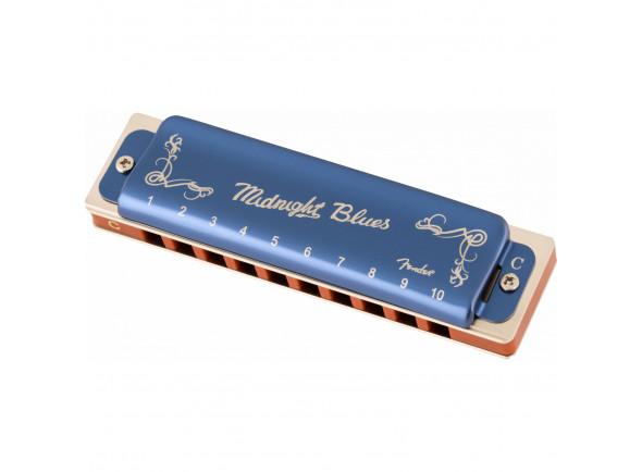 Harmónica diatónica  Fender  Midnight Blues Armonica Do