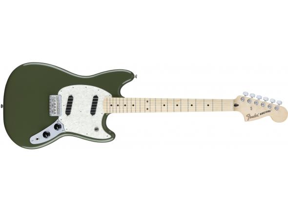 Guitarra elétrica/Outros formatos Fender Mustang Olive