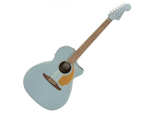 Outras guitarras acústicas Fender Newporter Player Ice BlueSatin