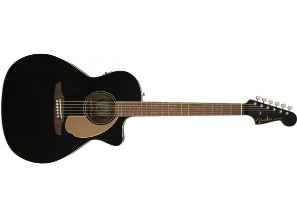 Outras guitarras acústicas Fender Newporter Player Jetty Black