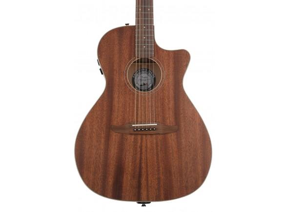 Guitarra Acústica/Guitarra Acústica Fender Newporter Special MAH w/Bag