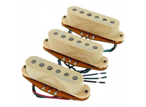 Pickups single coil Fender Noiseless Gen4 StratocasterSet