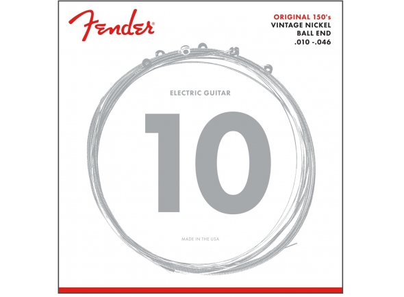 Jogo de cordas .010 Fender Original Pure Nickel 150