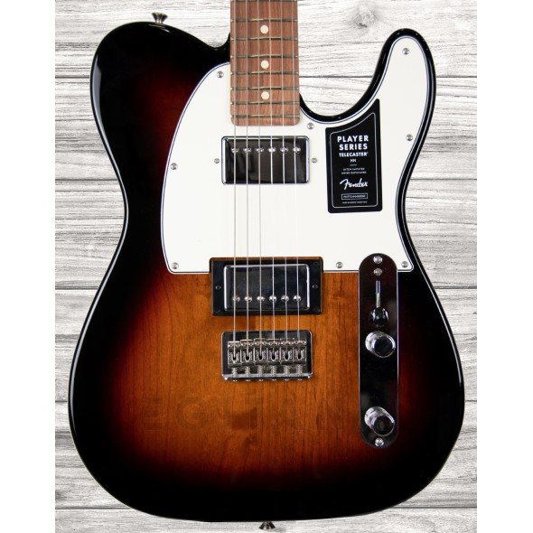 Guitarras formato T Fender Player Series Tele HH PF 3TS
