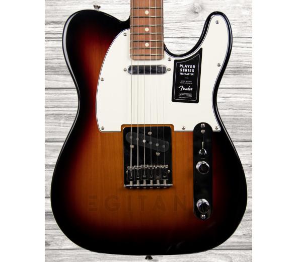 Guitarras formato T Fender Player Series Tele PF 3TS