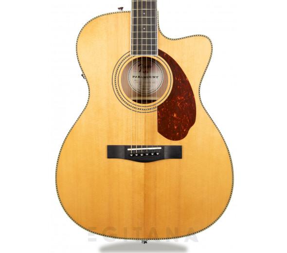 B-stock Guitarras folklóricas Fender PM-3 STD Triple 0 Natur B-Stock