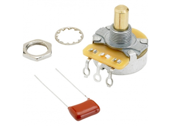 Potenciómetro Fender Potenciómetro 250K Solid Shaft para Volume/Controlo de Timbre