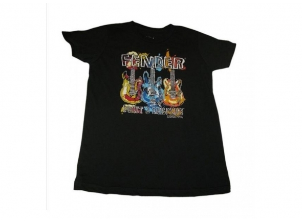 T-shirts Fender PRETEEN PAINT STYLE LARGE/12