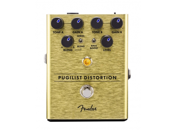 Pedal de distorção Fender Pugilist Distortion