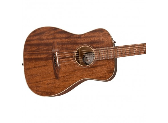 Guitarra acústica dreadnought/Guitarras Dreadnought Fender Redondo Special MAH w/Bag
