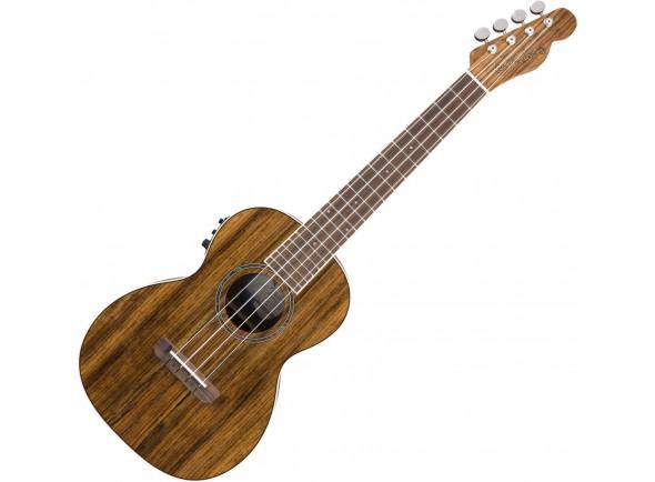 Ukulele Tenor/Ukulele Electrificados Fender Rincon Tenor Ukulele V2 OV Natural