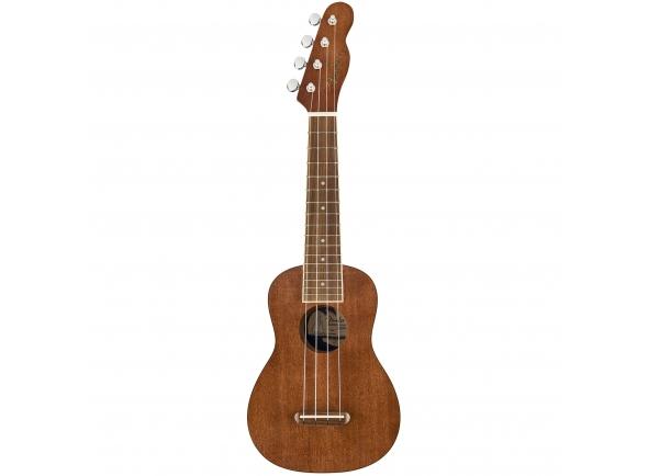 Ukulele Soprano/Ukulele Fender Seaside Soprano Uke Pack